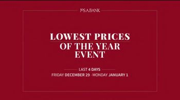 JoS. A. Bank Lowest Prices of the Year Event TV Spot, 'Save Storewide'