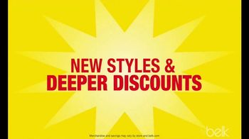 Belk Storewide Clearance Blowout TV Spot, 'New Styles and Deeper Discounts' - Thumbnail 3