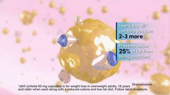 Alli TV Spot, 'Medifacts: Only FDA-Approved Weight Loss Aid' - Thumbnail 8