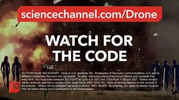 Science Channel TV Spot, 'Mythbusters MerryThon Drone Giveaway' - Thumbnail 8