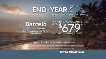 Apple Vacations End of Year Sale TV Spot, 'Time is Running Out' - Thumbnail 6