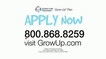 Gerber Life Insurance Grow-Up Plan TV Spot, 'Builds Cash Value' - Thumbnail 10