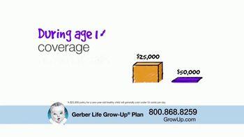 Gerber Life Insurance Grow-Up Plan TV Spot, 'Builds Cash Value' - Thumbnail 4