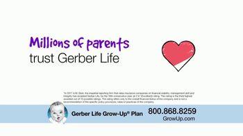 Gerber Life Insurance Grow-Up Plan TV Spot, 'Builds Cash Value' - Thumbnail 8