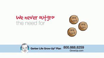 Gerber Life Insurance Grow-Up Plan TV Spot, 'Builds Cash Value' - Thumbnail 9
