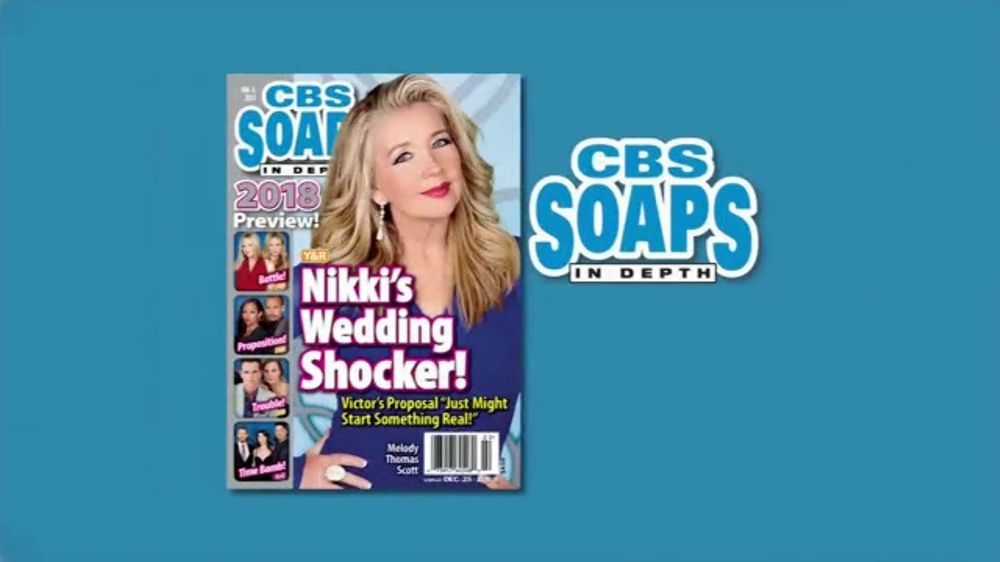 cbs soaps sweepstakes cbs soaps in depth tv commercial young restless 9779