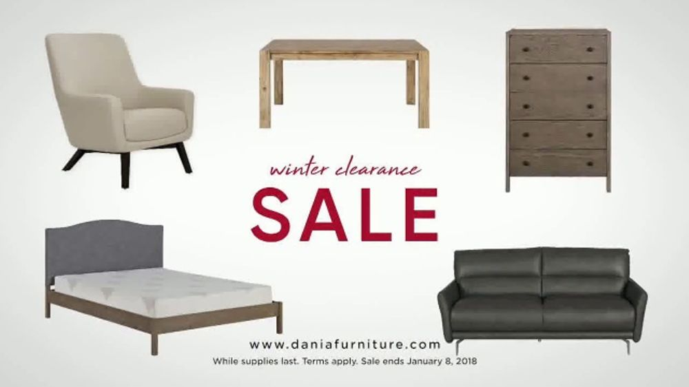 Dania Winter Clearance Sale TV Commercial, U0027Save Up To 50 Percentu0027    ISpot.tv