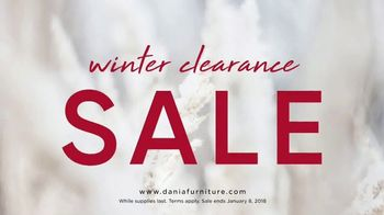 Dania Winter Clearance Sale TV Spot, 'Save Up to 50 Percent' - Thumbnail 1