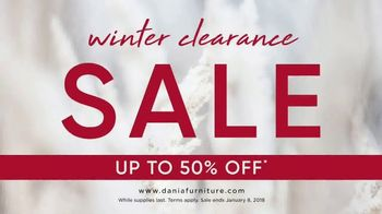 Dania Winter Clearance Sale TV Spot, 'Save Up to 50 Percent' - Thumbnail 2
