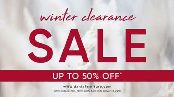 Dania Winter Clearance Sale TV Spot, 'Save Up to 50 Percent' - Thumbnail 7
