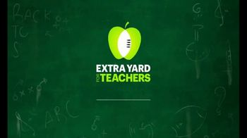 Extra Yard for Teachers TV Spot, 'Thank You' - Thumbnail 1