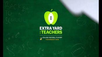 Extra Yard for Teachers TV Spot, 'Thank You'