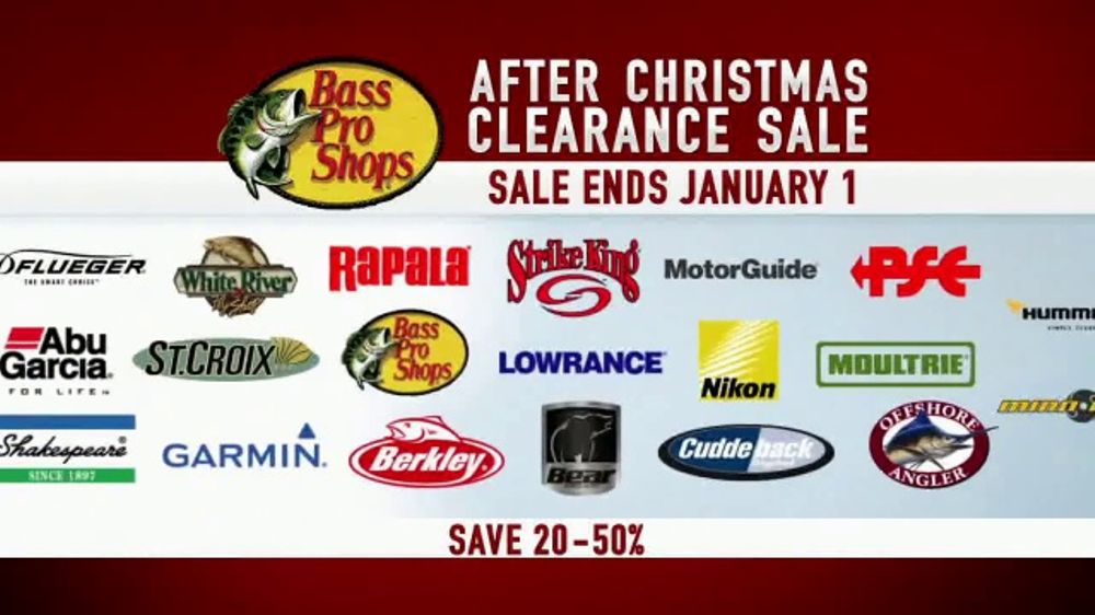 bass pro shops after christmas clearance sale tv commercial top brands ispottv - Bass Pro After Christmas Sale