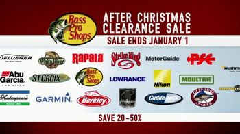 Bass Pro Shops After Christmas Clearance Sale TV Spot, 'Top Brands' - 668 commercial airings