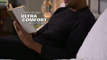 Copper Fit Replenish Sleepwear TV Spot, 'A Good Night's Sleep' - Thumbnail 5
