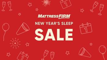 Mattress Firm New Year's Sleep Sale TV Spot, 'Resolutions' - Thumbnail 10