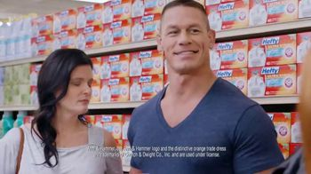 Hefty Ultra Strong TV Spot, 'Waiting Husbands' Featuring John Cena - Thumbnail 4