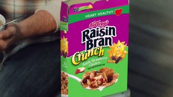Kellogg's Raisin Bran Crunch Apple Strawberry TV Spot, 'Fishing' - Thumbnail 4