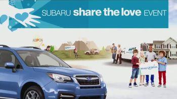 Subaru Share the Love Event TV Spot, 'Charitable Donation' [T2] - Thumbnail 6