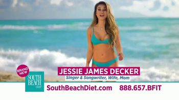 South Beach Diet TV Spot, 'See Results Fast' Featuring Jessie James Decker - 2836 commercial airings