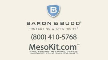 Baron & Budd, P.C. TV Spot, 'Mesothelioma Kit' - Thumbnail 9