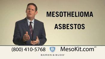 Baron & Budd, P.C. TV Spot, 'Mesothelioma Kit' - Thumbnail 1