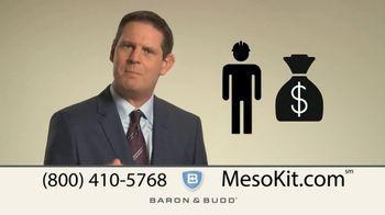 Baron & Budd, P.C. TV Spot, 'Mesothelioma Kit' - Thumbnail 3