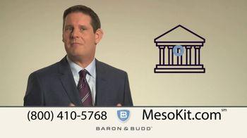 Baron & Budd, P.C. TV Spot, 'Mesothelioma Kit' - Thumbnail 4