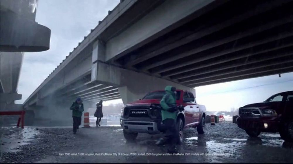 Ram 2017 Big Finish TV Commercial, 'Long Live Resilience: 2017 Ram 1500' [T2]