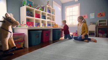 The Home Depot TV Spot, 'Storage Solutions: Husky Totes'