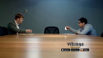 Vikings: War of Clans TV Spot, 'Office Battle' - Thumbnail 3