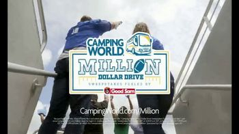Camping World TV Spot, 'Game Day: Million Dollar Drive Sweepstakes' - Thumbnail 6