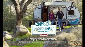 Camping World TV Spot, 'Game Day: Million Dollar Drive Sweepstakes' - Thumbnail 7