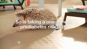 Do I Have Prediabetes TV Spot, 'Risk Test Hedgehogs' - Thumbnail 3