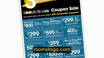 Rooms to Go Coupon Sale TV Spot, 'Three Days Only' - Thumbnail 3