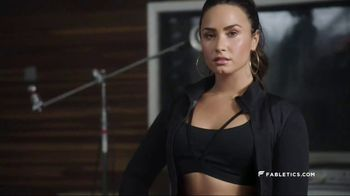 Fabletics.com Demi Lovato Collection TV Spot, 'Stand-Out Pieces' - Thumbnail 4