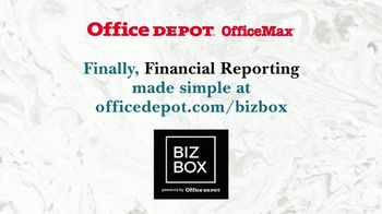 Office Depot OfficeMax TV Spot, 'Taking Care of Taxes' - Thumbnail 8