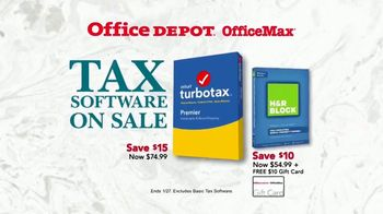 Office Depot OfficeMax TV Spot, 'Taking Care of Taxes' - Thumbnail 7