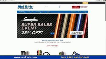 Mud Hole Custom Tackle TV Spot, 'Instructional Videos and Rod Kits' - Thumbnail 1