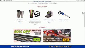 Mud Hole Custom Tackle TV Spot, 'Instructional Videos and Rod Kits' - Thumbnail 2