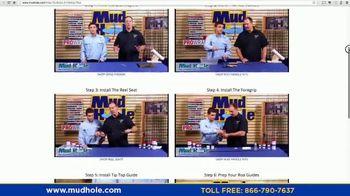 Mud Hole Custom Tackle TV Spot, 'Instructional Videos and Rod Kits' - Thumbnail 3