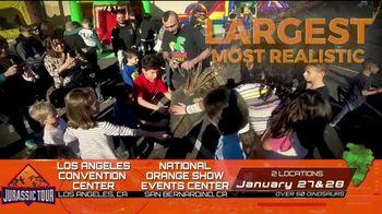 Jurassic Tour TV Spot, 'Los Angeles & San Bernardino'