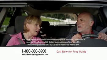UnitedHealthcare AARP Medicare Supplement Plans TV Spot, 'Car Talk' - 10610 commercial airings