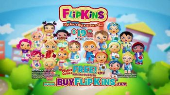 FlipKins TV Spot, 'Transformable Flipping Friends' - Thumbnail 5