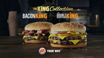 Burger King Double Quarter Pound King TV Spot, 'King Collection' - Thumbnail 10