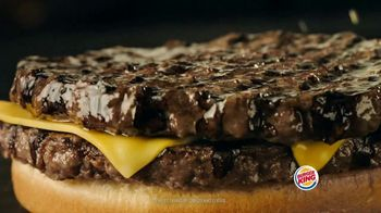 Burger King Double Quarter Pound King TV Spot, 'King Collection' - Thumbnail 5