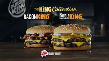 Burger King Double Quarter Pound King TV Spot, 'King Collection' - Thumbnail 9