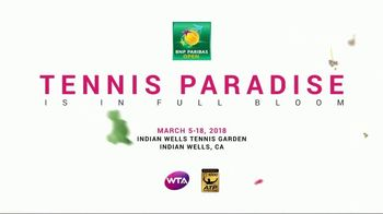 2018 BNP Paribas Open TV Spot, 'In Full Bloom' - Thumbnail 9