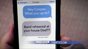 ThinOPTICS TV Spot, 'Free Replacement Glasses Forever' Feat. Richard Karns - Thumbnail 6