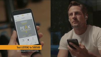 Audible.com TV Spot, 'Listening Is the New Reading'